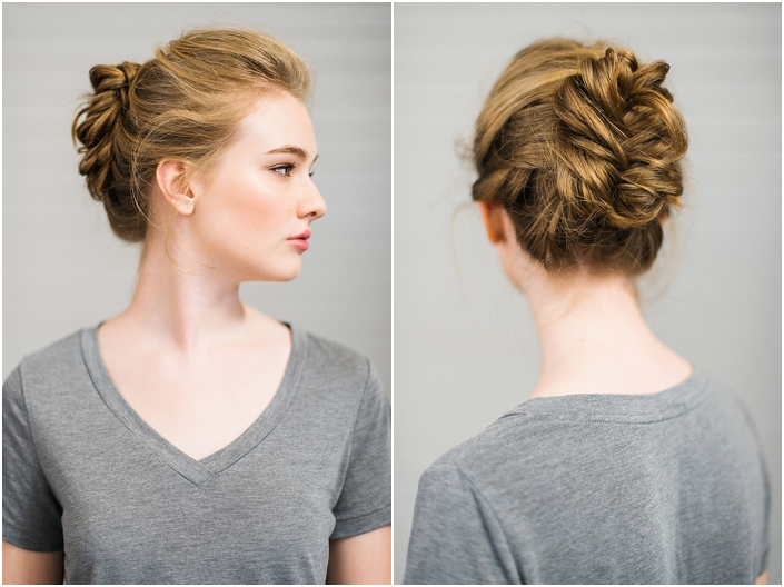 11 diy elegant updo diy hair