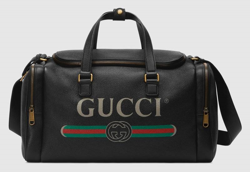 Gucci Leather Carry-On Duffle